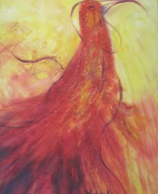 Kunst, Acryl und  Aquarelle aus  Sauerlach